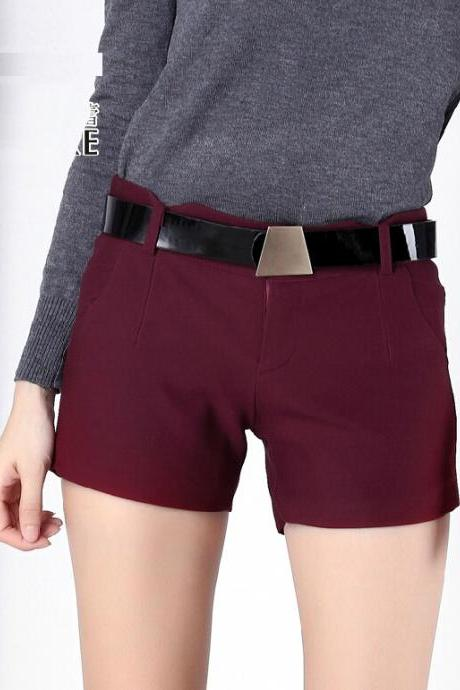 2015 Women Boots Pant Loose Cotton Short Hot Pants