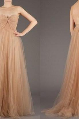 Custom Made Long Tulle Prom Dress,Evening Dresses, Homecoming Dress
