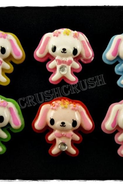 15pcs Cinnamoroll Dog Cartoon Sanrio Japanese Flat Back Cabochons F556