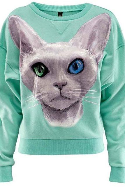 Hot sale 3D Cute Loose Cotton Sweatshirt