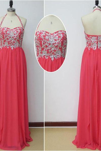 A Line Prom Dress,Sweatheart- Neck Dress,Floor-length Prom Dress, Applique Graduation Dress ,Dress For Evening On Sale L022