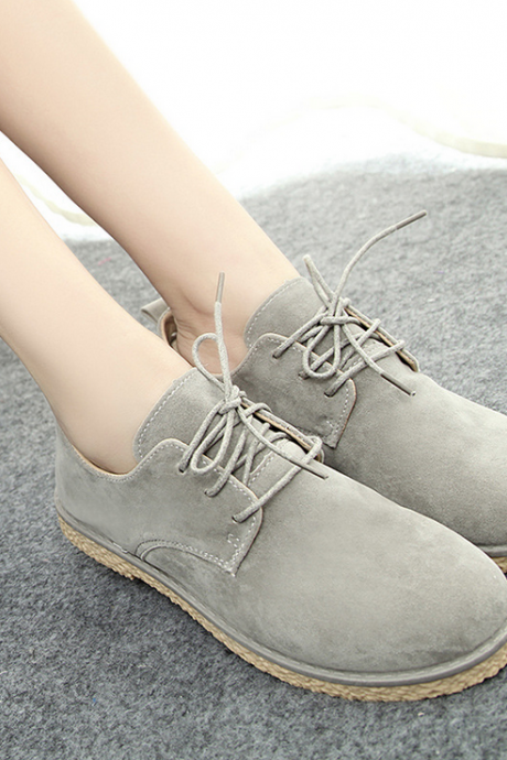 Retro casual flat shoes 4643830