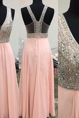 Sexy Long prom dress Beading Prom Dress Elegant Women dress,Party dress Evening Dress L080