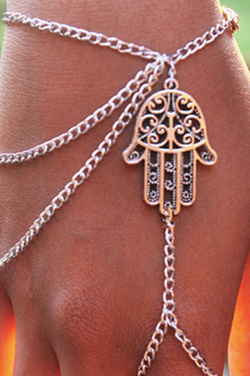 Fashion and personality Bergamot chain tassel Even the refers to the bracelet with female