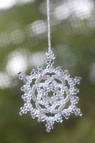 Blue Snowflake Wedding Decoration