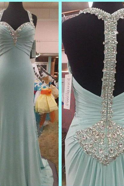 Long Prom Dress Blue Prom Dress Unique Prom Dress Formal Prom Dress Inexpensive Prom Dress Popular Prom Dress
