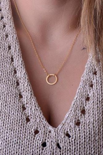 FASHION CLAVICLE ALLOY NECKLACE GV823CF