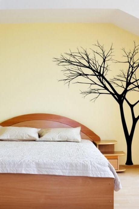 Bare Tree Style 3 Vinyl Wall Decal 22222
