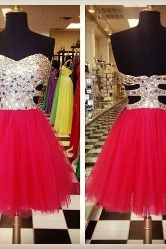 Charming Homecoming Dress Sequined Homecoming Dress Short Homecoming Dress Cocktail dress