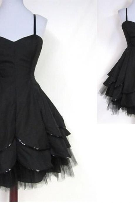 Homecoming Dresses,Handmade Homecoming Dresses,Sweetheart Homecoming Dress,Party Dresses, Short-Mini Graduation Dresses, Black Homecoming Dress, Sexy Homecoming Dress