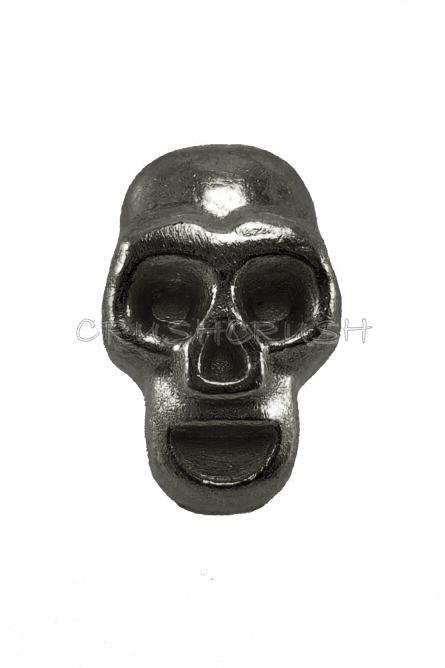 10Sets GunMetal Skull RIVETS Leather Decoration RV832