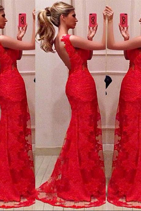 Sexy Lace Bridal Wedding Party Ball Prom Gown Formal Evening Dress Size S/M/L/XL