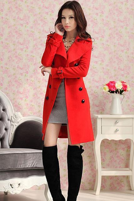 Beautiful Red Fashion Coat OV2G2JAGTM3VMJU38B7IK WDKNKHDWT2Y
