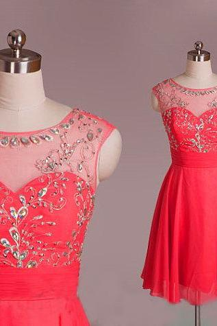 Red Homecoming Dress Red Evening Dress Short Evening Dress Unique Prom Dresses Sexy Prom Dresses 2017 Prom Dresses Popular Prom Dresses Dresses For Prom