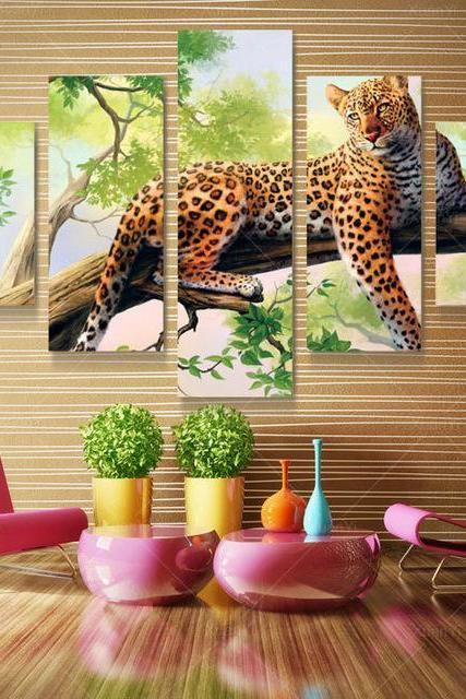 Canvas Wall Decor HD Canvas Printed Modern Paint Wall Decals 3D Canvas Without Frame