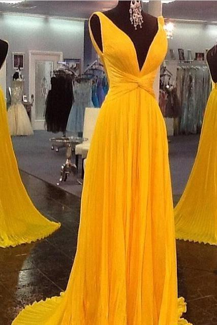 Prom Dresses Backless Prom Dresses,Party Dresses Plus Size Dresses Yellow Evening Dresses Sexy Evening Gowns Formal Dresses Evening Dresses Party Evening