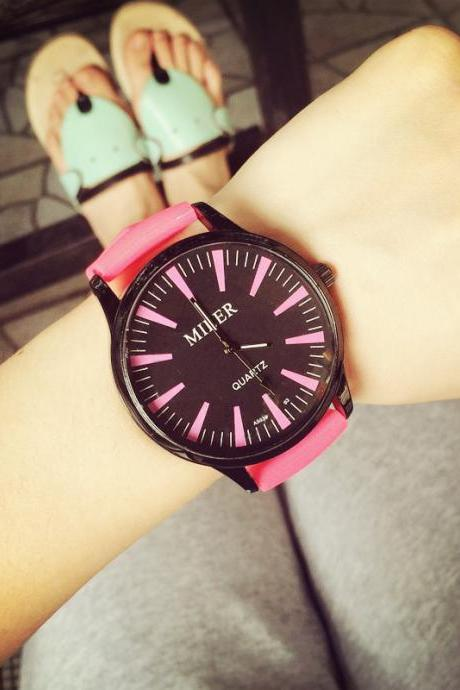 Harajuku quartz analogue watch