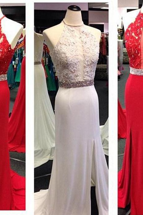 Chiffon Evening Dress 2015 Evening Dresses Formal Evening Dress Lace Evening Dresses,Handmade Evening Dress Dress For Evening Halter Evening Dress Floor-Length Evening Dresses Long Evening Dress