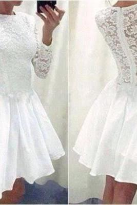 2015 new hot Bridesmaid dresses lace Homecoming Dresses mini Ball Gown Graduation Dresses