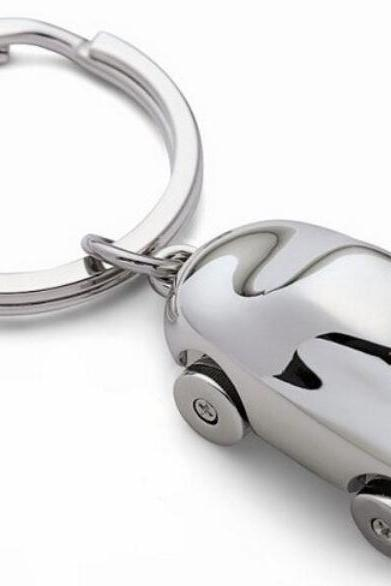Car Key Chain Silver Plated Gift Car Keys Bling for Men