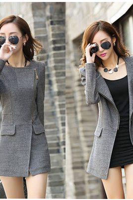 Women Fashion Woolen Coats(2 Colors)