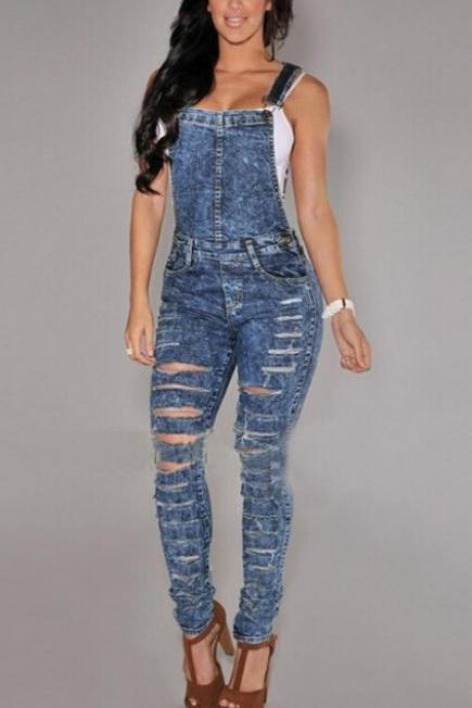 HOT JEANS JUMPSUIT