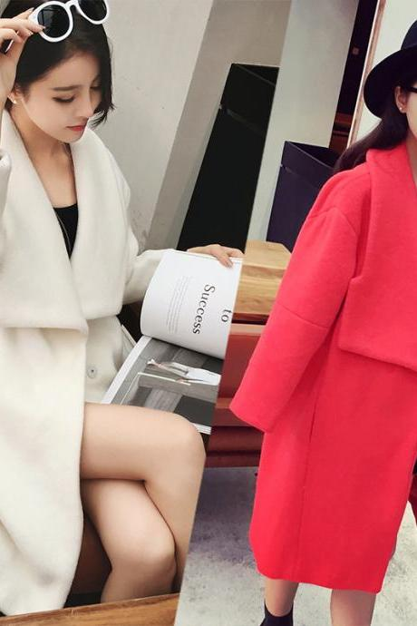 High Quality Women Loose Faux Fur Coats(2 Colors)