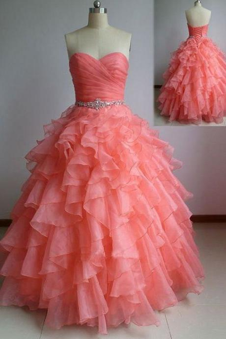 Coral Prom Dresses for Teens - Luulla