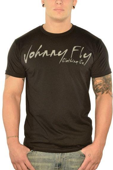 Mens Johnny Fly Signature Tee
