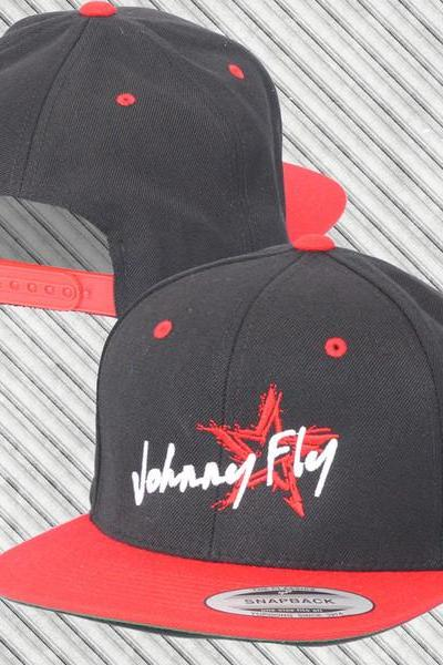 Signature Snapback Hat Red