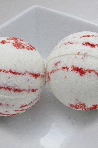 Bath Bomb Twisted Peppermint