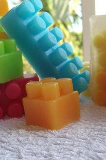 Building block Soap. glycerin. Soap Art