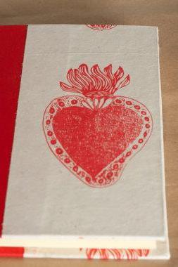 Large Sacred Heart Large Journal