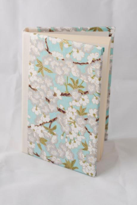 Blue cherry blossoms Journal
