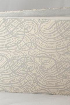 Silver Swirls Photo Album