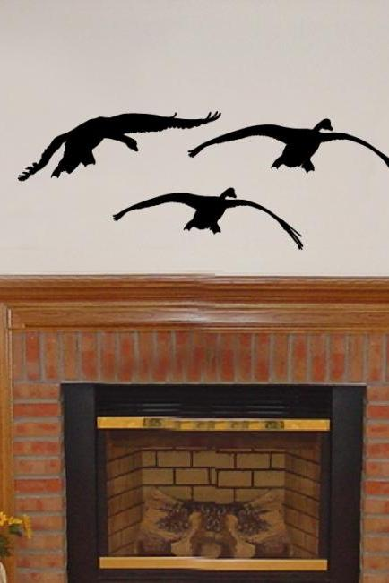Geese 3 Vinyl Wall Decal 22229