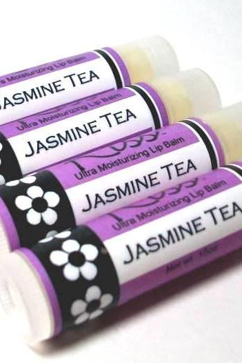 Jasmine Tea Kiss™ Lip Balm, super moisturizing formula, flavored lip balm