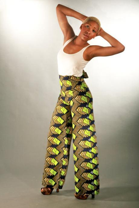 Kenya - Gorgeous costumisable dashiki african trousers