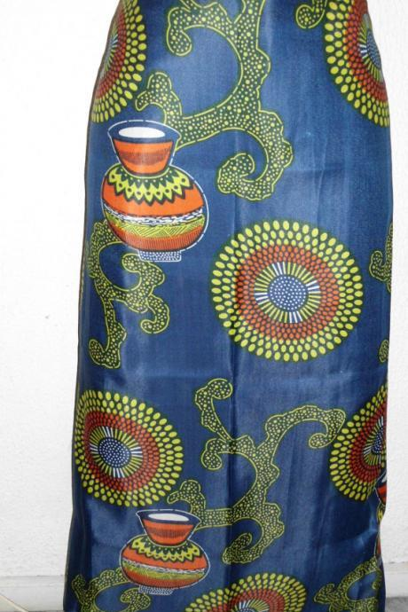 Gitega - Ready to ship - Gorgeous costumisable dashiki african maxi skirt