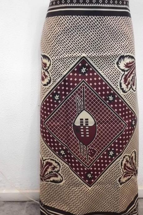 Bubanza - Ready to ship - Gorgeous costumisable dashiki african maxi skirt