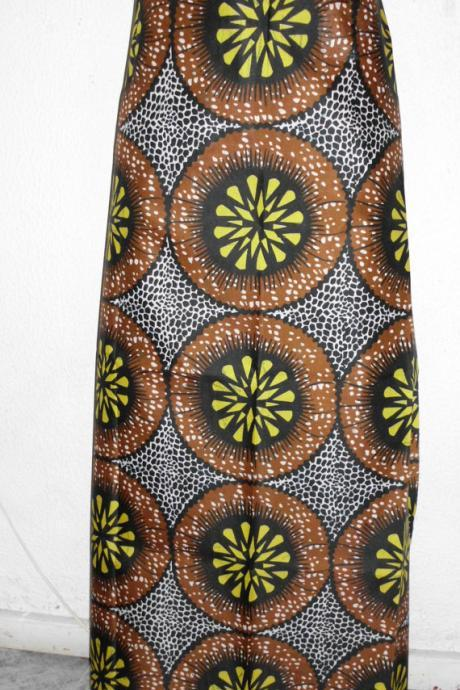 Kantchari - Ready to ship - Gorgeous costumisable dashiki african maxi skirt