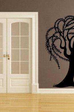 Large Willow Tree Vinyl Wall Decal 22172
