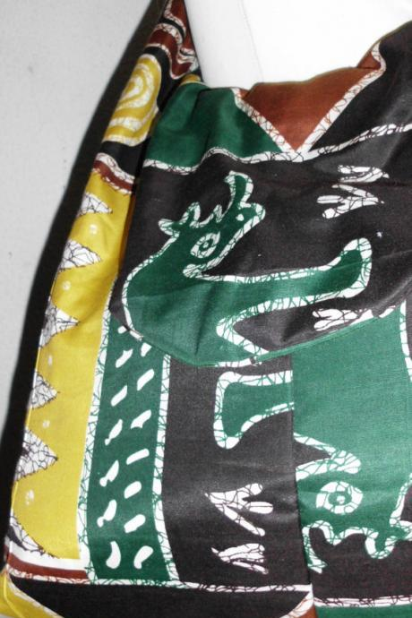 Gaborone - Gorgeous ready to ship and costumisable dashiki african bag