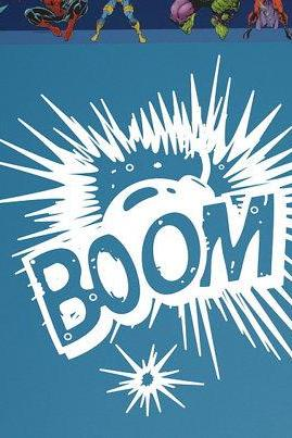 Wall Decal BOOM Explosion Comics Vinyl Wall Graphic 22103