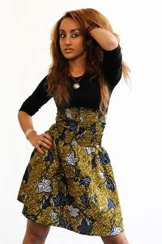 Botswana - Gorgeous costumisable dashiki african skirt