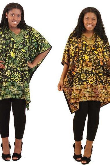 Algeria - Gorgeous costumisable dashiki african tunic dress