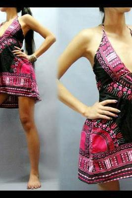 Nigeria - Gorgeous costumisable dashiki african dress