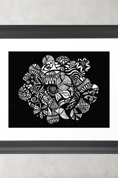 Printable Wall Art Poster DIY - Vida Abstract