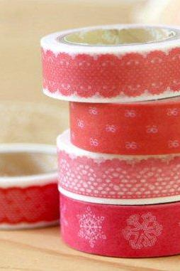 New quality lace and cartoon series washi masking tape