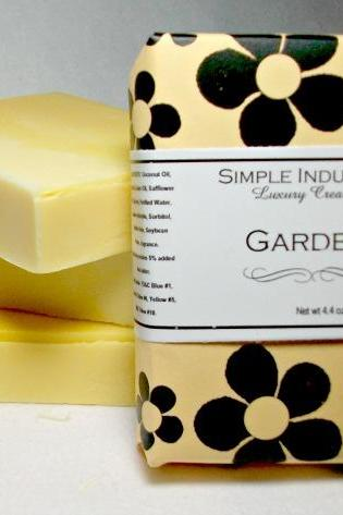 Gardenia Simple Indulgence Handmade Soap